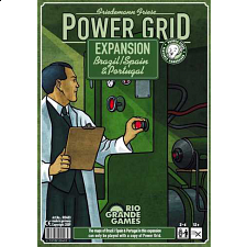 Power Grid Expansion Brazil, Spain and Portugal - Board Games