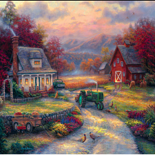 Farm Country - Afternoon Harvest - 1000 Pieces