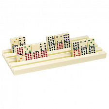 Domino Holders (2) - Plastic - Games & Toys