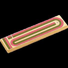 Color 2 Track Cribbage Board -