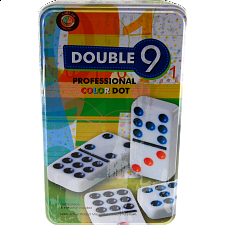 Double 9 Pro Color Dot Dominoes