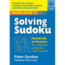 Mensa Guide to Solving Sodoku - book