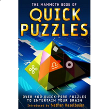 The Mammoth Book of Quick Puzzles - book - Brain Teaser