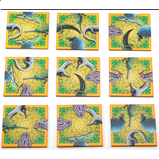 Rare Reptiles - Endangered Animals - Wildlife Puzzles - Tile Puzzles