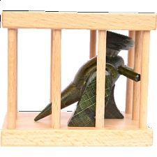 Dragon in a Cage - Other Wood Puzzles