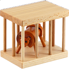Lion in the Cage - Wood Puzzles