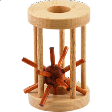 Hedgehog in a Cage - Other Wood Puzzles
