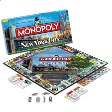 Monopoly: New York City Collector's Edition - Family Games