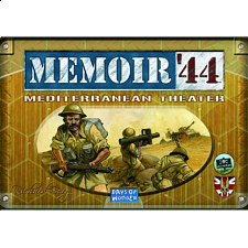 Memoir '44: Mediterranean Theater - War Games