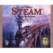 Steam: Rails to Riches - Board Games