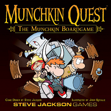 Munchkin Quest: The Munchkin Board Game - Search Results