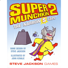 Super Munchkin 2: The Narrow S Cape - Board Games