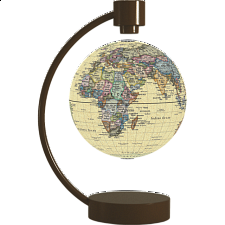 "Stellanova 4"" Floating Globe - Antique - Globes"