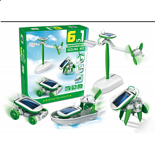 6-in-1 Educational Solar Kit - Games & Toys