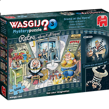 Wasgij Mystery #3 Retro: Drama at the Opera -