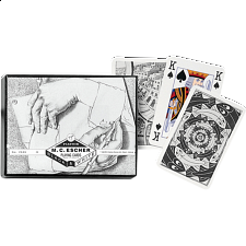 "M.C. Escher: ""Left and Right"" Playing Cards"