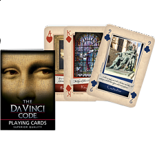 The Davinci Code Playing Cards - Games & Toys
