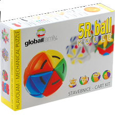 Sphere Ball 5R - Rotational Puzzle - Kit -