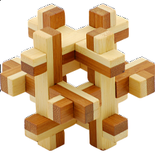 Bamboo Wood Puzzle 1 - Other Wood Puzzles