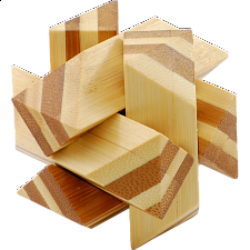 Bamboo Wood Puzzle 3 - Other Wood Puzzles