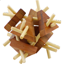 Bamboo Wood Puzzle 6 - Other Wood Puzzles