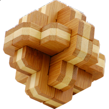 Bamboo Wood Puzzle - Bloom -