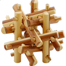 Bamboo Wood Puzzle 8 - Other Wood Puzzles