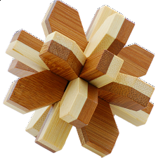 Bamboo Wood Puzzle - Snowflake - Search Results