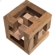 Cross Cage - European Wood Puzzles