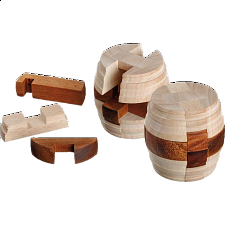 Barrel of Diogenes - European Wood Puzzles