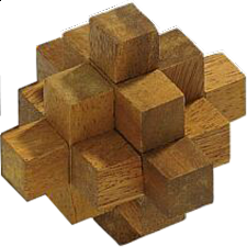 Star Cube- Philos - Wood Puzzles