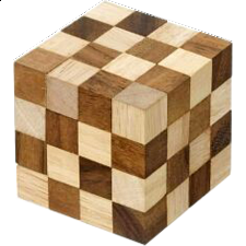 King Cobra Cube - Philos - Wood Puzzles