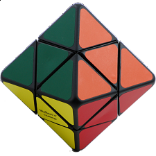 Skewb Diamond - black body- 8 color