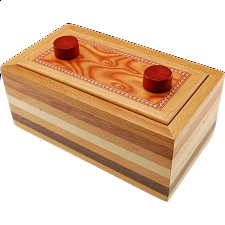 Nagel Trick Box - European Wood Puzzles