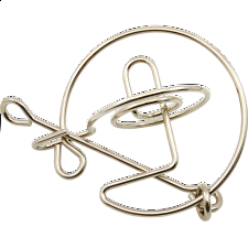 Saturn - Wire Puzzle - Other Wire / Metal Puzzles