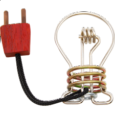 Gluhbirne (Light Bulb) - Wire & Metal Puzzles