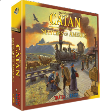Catan Histories: Settlers of America - Trails to Rails - Board Games