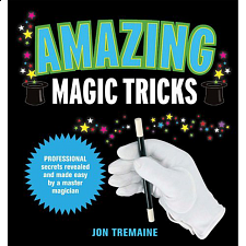 Amazing Magic Tricks - Jon Tremaine - book - Puzzle Books
