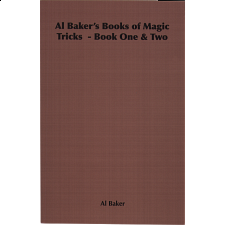 Al Baker's Books of Magic Tricks - Book One and Two - Puzzle Books