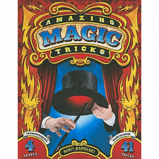 Amazing Magic Tricks - Norm Barnhart - book - Misc Puzzles