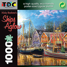 Ships Aglow - 1000 Pieces