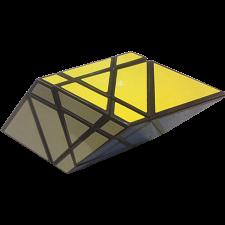 Rhombohedron 3x3x3 Cube - Black Body -
