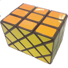 Long Case Cube - Black Body - Other Rotational Puzzles