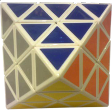 DianSheng Face Turning Octahedron - White Body - Rubik's Cube & Others