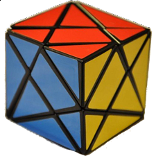 Axis Cube - Black Body - Other Rotational Puzzles