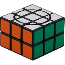 Crazy 2x3x3 - Black Body - Rubik's Cube & Others