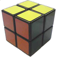 LanLan 2x2x2 - Black Body - Other Rotational Puzzles
