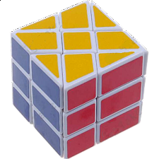 Windmill Cube - White Body - Other Rotational Puzzles