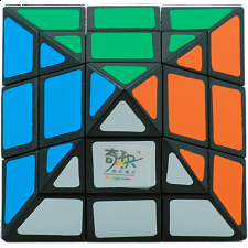 3 Layers - 6-Axis Octahedron - Black Body - Other Rotational Puzzles