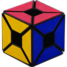 Void - Edge Only Cube - Black Body - Rubik's Cube & Others